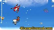 Летящий Санта