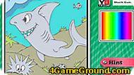Игра Раскраска акулы