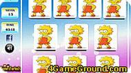 Игра Карты с Симпсонами