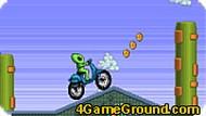 Игра Космический мотоцикл