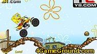Игра Губка Боб с мотоциклом
