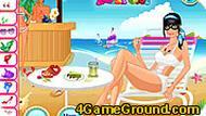 Игра Девушка на пляже