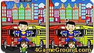 Игра Супермен: найди отличия