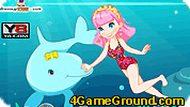 Игра Девочка с дельфинами