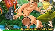 Игра Тарзан и буквы
