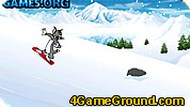 Игра Том на сноуборде