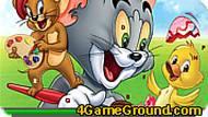 Игра Том и Джерри: найдите буквы