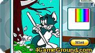 Игра Раскраска с Томом и Джерри