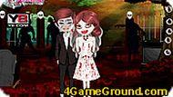 Игра Свадьба у зомби