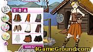 Игра Девушка-викинг
