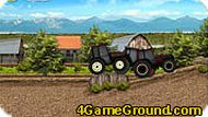 Игра Гонка на тракторах
