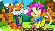 Игра Влюблённые котята