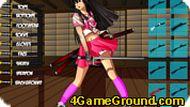 Игра Девочка-самурай