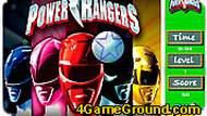 Игра Могучие рейнджеры: игра на внимание