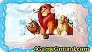 Игра Король Лев пазл