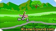 Луффи: гонка на мотоцикле