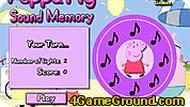 Игра Свинка Пеппа: ноты