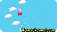 Игра Свинка Пеппа: Прыгать по облакам