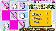 Игра Свинка Пеппа: крестики-нолики