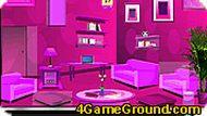 В розовой комнате