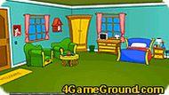 В большой игровой комнате