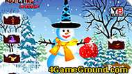 Создайте снеговика