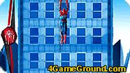 Игра Человек-паук на доме