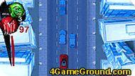 Человек-паук на машине