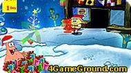 Игра Губка Боб: рождество