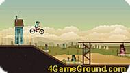 Игра Трюк на велосипеде