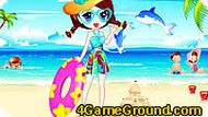 Игра На морском пляже