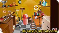 Игра Комната для уборки