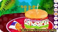 Игра Бутерброд с тунцом