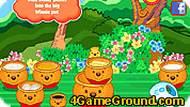 Игра Винни-Пух: кексы с мёдом