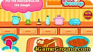 Игра Винни-Пух: готовим пиццу