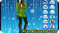 Игра Зимние девушка