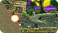 Игра Мотоцикл для зомби