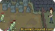 Игра Кладбище с зомби