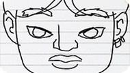 Игра Рисуем лицо