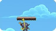 Игра Ниндзя на верёвке