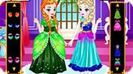 Игра Платья Эльзы и Анны