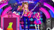Игра Барби рок-звезда