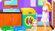 Игра Ребёнок Барби