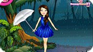 Игра Барби в зачарованном лесу