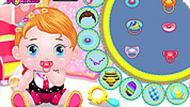 Игра Одевалка: малыш