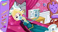 Игра Эльза в больнице