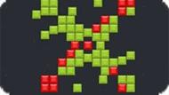 Игра Зелёные кубики