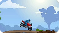 Игра Мотоцикл в лесу