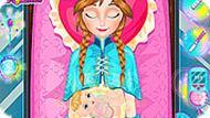 Игра Холодное Сердце: беременная Анна