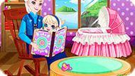 Игра Холодное Сердце: бабушка Эльза